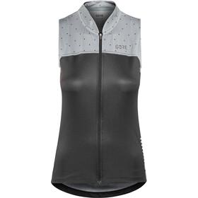 GORE WEAR C5 Mouwloos Fietsshirt Dames, black/nordic blue
